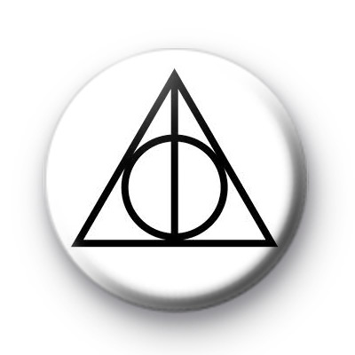 Deathly Hallows Logo Badge