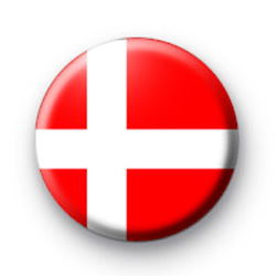 Denmark Danish Flag Badges