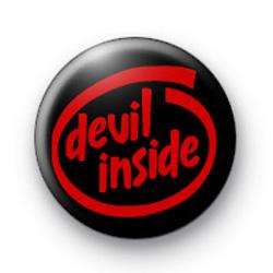 Devil Inside Badge