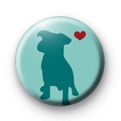 Mans Best Friend Button Badges