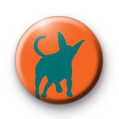 Cute Dog Pin Badge
