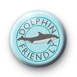 Dolphin Friendly Badge