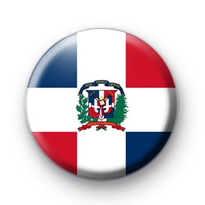 Dominican Republic Flag Pin Badge
