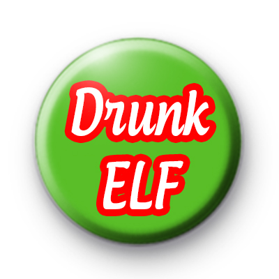 Drunk Elf Pin Badge
