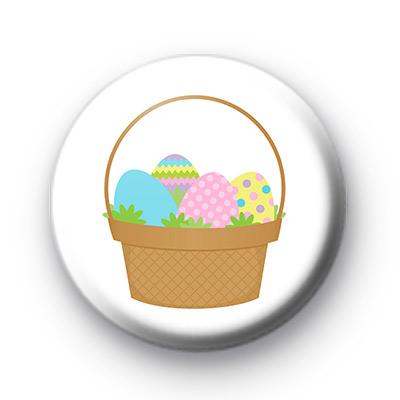 Easter Basket Chocolate Eggs badge
