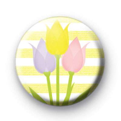 Spring Tulips Badge