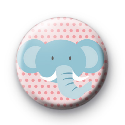 Elephant Trunk Button Badges