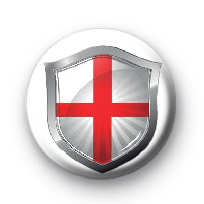 England Flag Crest Badge