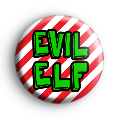 Evil Elf Badge