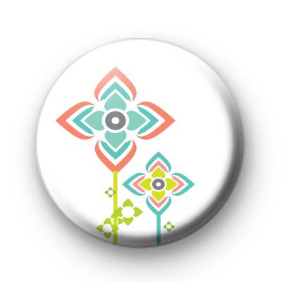 Extra Modern Flower Badge