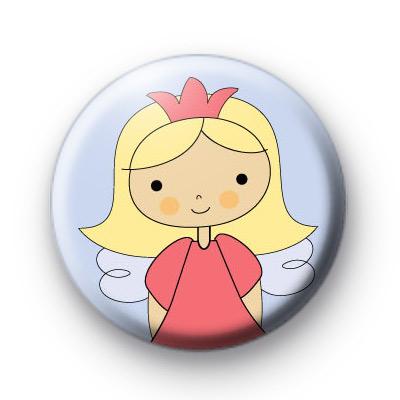 Sweet Fairy Pink Crown Badges