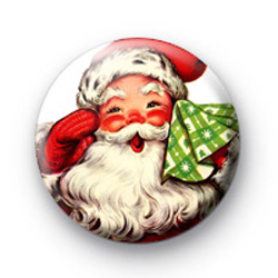 Father Christmas badge