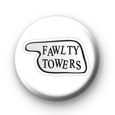 Fawlty Towers Custom badges