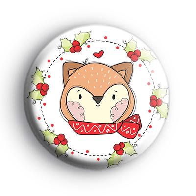Winter Fox Badge