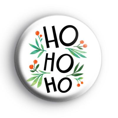 Ho Ho Ho Festive Badge
