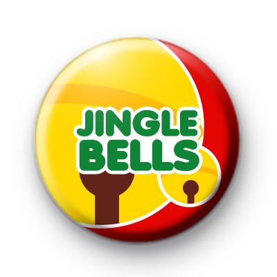 Festive Jingle Bells Christmas Badges