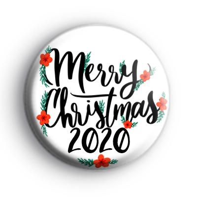 Merry Christmas 2020 Badge : Kool Badges