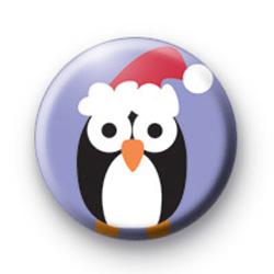 Festive Penguin Badges