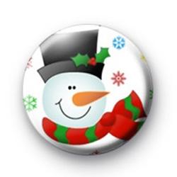 Festive Snowman badges