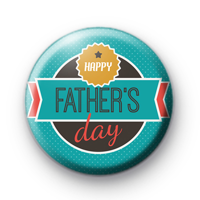 Cool Happy Fathers Day Badge
