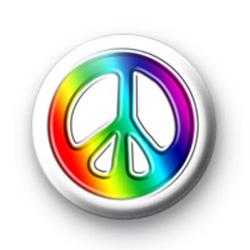 Peace Symbol badges