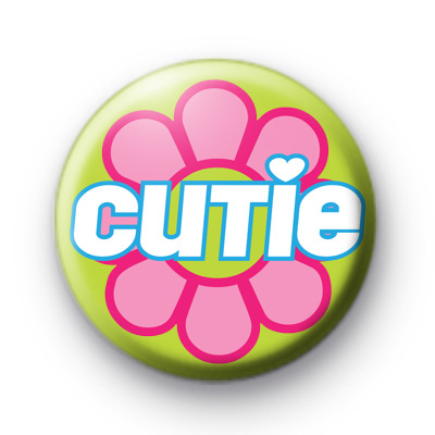 Flower Cutie Button Badges