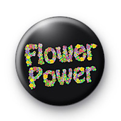 Hippie Flower Power 2 badge