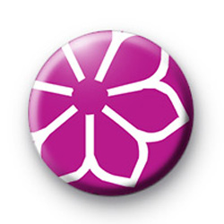 Purple Flower Badge