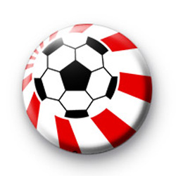 Football Red Button Badges