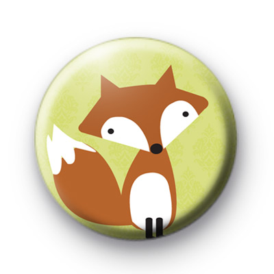 Foxy Fox Button Badge