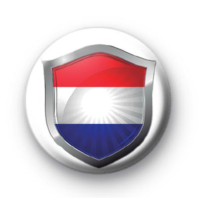 Netherland Flag Crest Badge