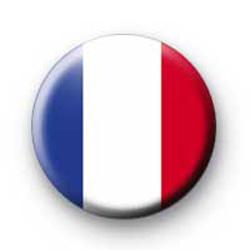 French Flag Badge