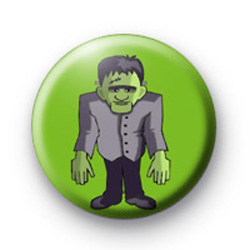 Spooky Frankenstein Halloween Badge