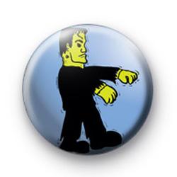 Frankenstein Halloween Badge