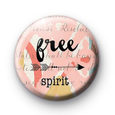 Pink Free Spirit Badge