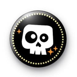 Rockin Halloween Spooky Skull Badges