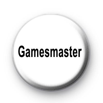 Gamesmaster Button Badges