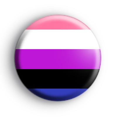 Gender Fluid Pride Flag Badge