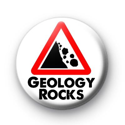 Geology Rocks Badge