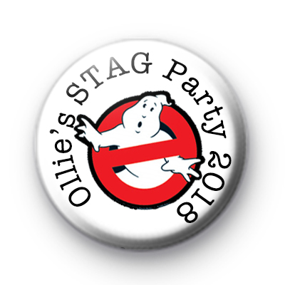 Ghostbusters STAG Party Badges