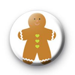 Gingerbread man badges