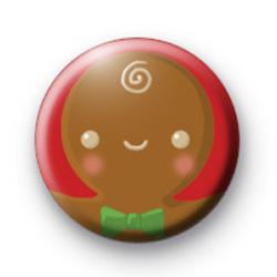 Gingerbread Man 2 Badge