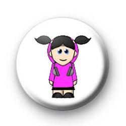 Emo Girl badges