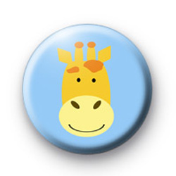 Giraffe button badge
