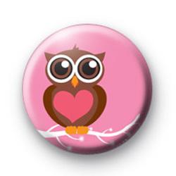 Hoot cute Owl Badges