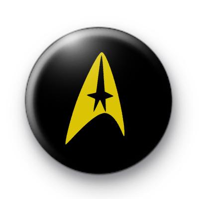 Star Trek Logo Gold Badges
