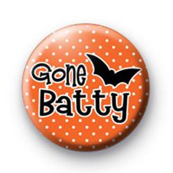 Gone Batty Button Badge