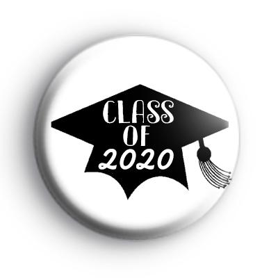 Class of 2020 School Leaver Button Badge
