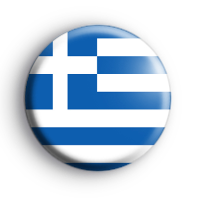 Greek Flag Badge