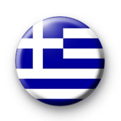 Greece Greek Flag Badges
